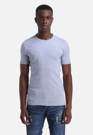 G-Star RAW Basic T-Shirt 2 Pack Grey Heather