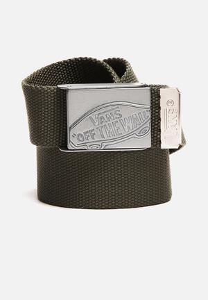 Vans Conducter Web Belt Green