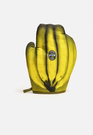 Mustard  Cool Bananas Oven Glove Kitchen Accessories 100% Cotton