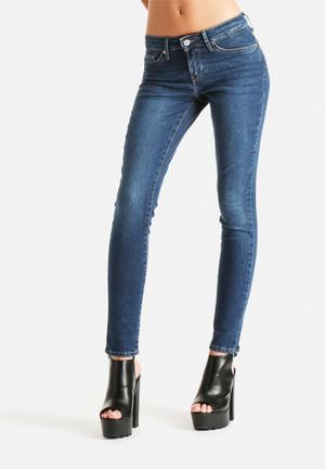 Levi's® 711 Runoff Contour Skinny Jeans Medium Blue