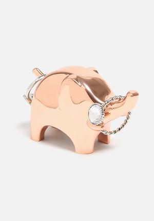 Umbra Anigram Ring Holder Organisers & Storage Copper
