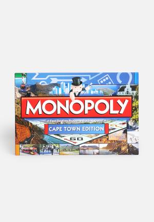 Hasbro Monopoly - Cape Town Edition Games & Puzzles