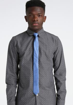 Selected Homme Plain Tie Ties & Bowties Blue