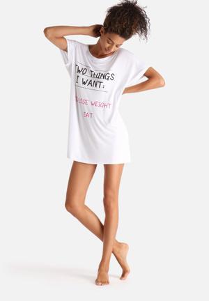 Adolescent Clothing Things I Want Sleepwear 95% Viscose 5% Elastane