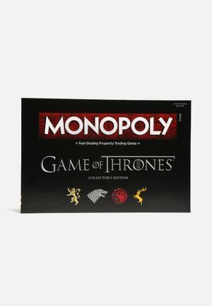 Hasbro Monopoly - Game Of Thrones