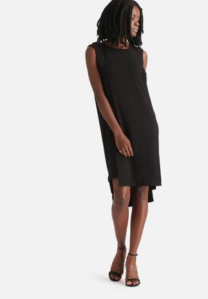 Vero Moda Glow Slit Dress Formal Black