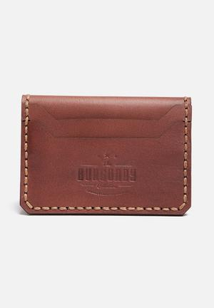 Burgundy 6-Card Crossover Bags & Wallets Dark Brown