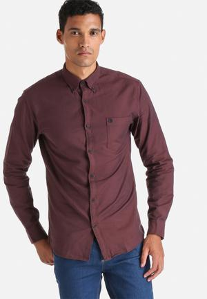 Selected Homme Collect Shirt Rum Raisin