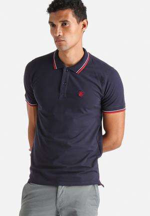 Selected Homme Season Polo T-Shirts & Vests Navy
