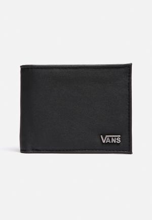 Vans Suffolk Wallet  All Black