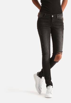 Eve Super Slim Destroyed Jeans