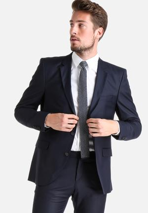 Selected Homme Logan Blazer Jackets & Coats Navy
