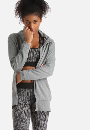 ONLY Play Liberty Long Sweat Hoodies & Jackets Grey