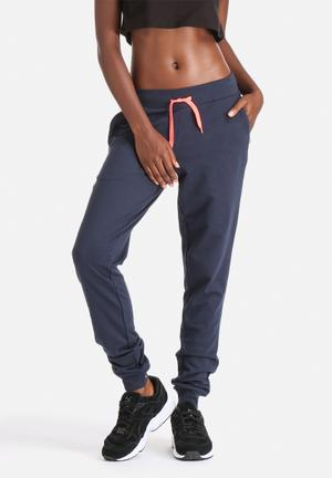 ONLY Play Arlette Slim Sweat Pants Bottoms Navy