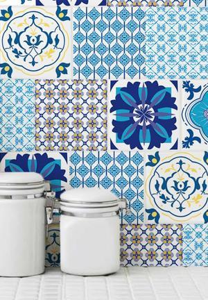 Sixth Floor Tile Decals Set Of 12 Accessories