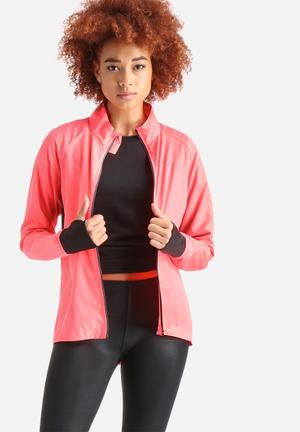 ONLY Play Harriet Running Jacket Hot Pink