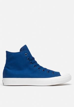 Converse Chuck Taylor All Star II HI Sneakers Sodalite Blue / White