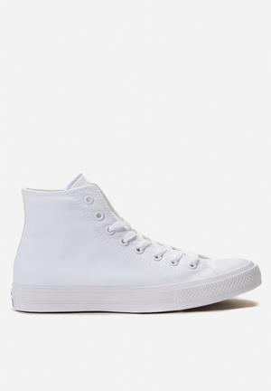 Converse Chuck Taylor All Star II HI Sneakers Optic White
