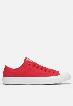 Converse Chuck Taylor All Star II Low Sneakers Salsa Red