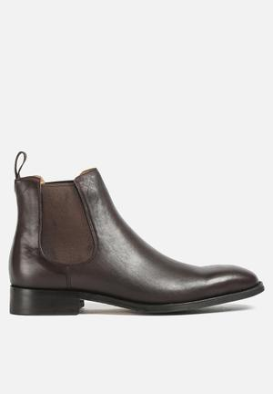 Windsor Smith Stockman Leather Chelsea Boots Brown