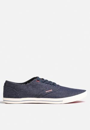 Jack & Jones Footwear & Accessories Spider Canvas Sneaker Blue