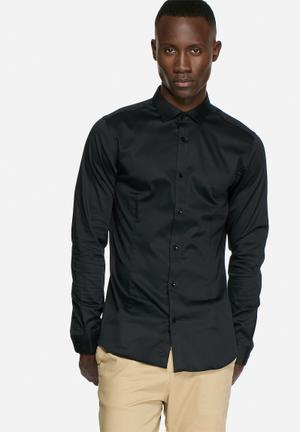 Jack & Jones Footwear And Accessories Parma Slim Shirt Black