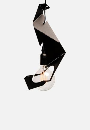 Emerging Creatives OrigamiPendant Light Large Lighting Black
