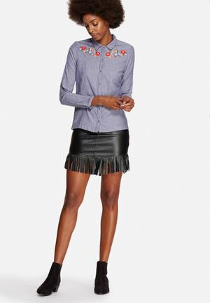 Vero Moda Lisa Shirt Navy