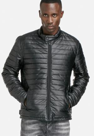 Jack & Jones Core Puffer Jacket Black