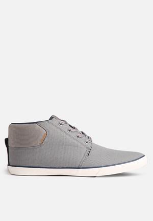 Jack & Jones Footwear & Accessories Vertigo Canvas Sneaker Grey
