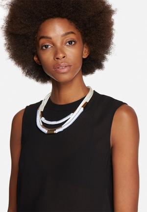 Vero Moda Allie Necklace Jewellery White