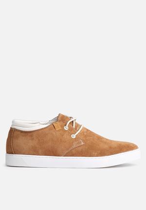 Jack & Jones Footwear & Accessories Hamlin Suede Sneaker Tan