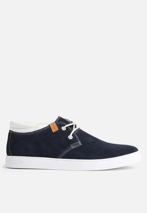 Jack & Jones Footwear & Accessories Hamlin Suede Sneaker Navy