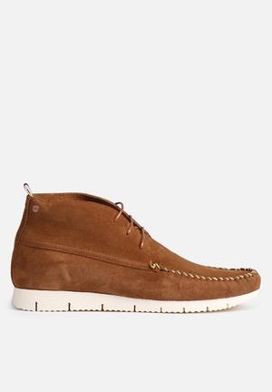 Jack & Jones Footwear & Accessories Moc Suede Sneaker Boot Tan
