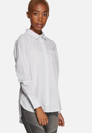 Jacqueline De Yong She Shirt White
