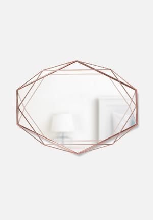 Umbra Prisma Mirror Accessories Copper