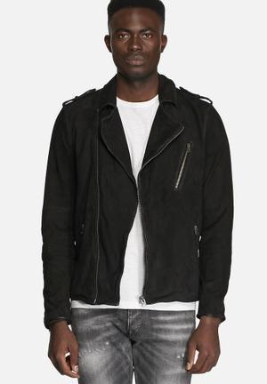 Base Leather Jacket