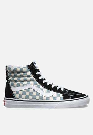 Vans Checkerboard SK8-Hi Reissue Sneakers Black / Citadel