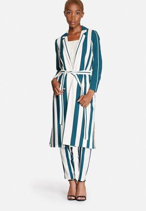 Cool Long Stripe Jacket