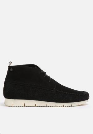 Jack & Jones Footwear & Accessories Moc Suede Sneaker Boot Black