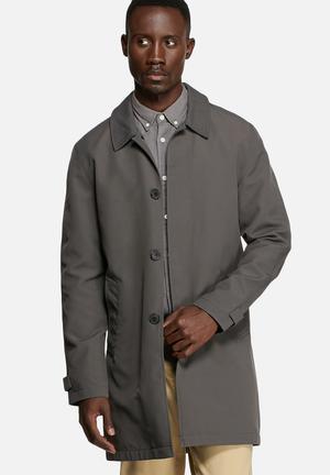 Selected Homme Paris Coat Dark Shaddow
