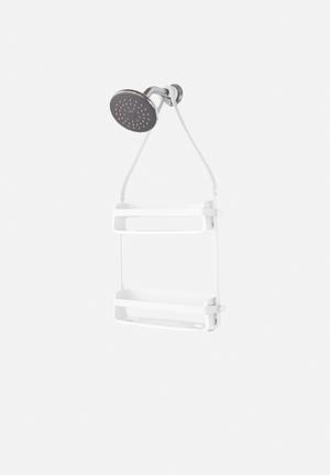 Umbra Flex Shower Caddy Bath Accessories White