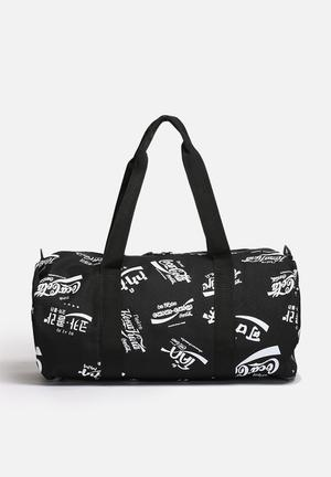 Herschel Supply Co. Coca-Cola & Herchel Sparwood Bags & Wallets Black