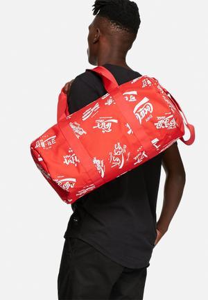 Herschel Supply Co. Coca-Cola & Herchel Sparwood Bags & Wallets Red