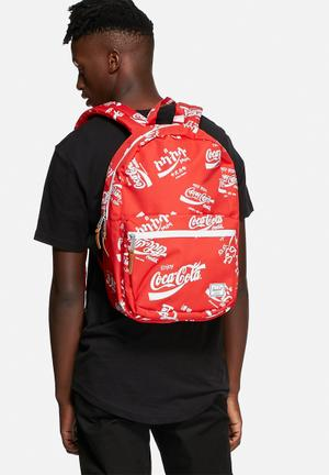 Herschel Supply Co. Coca-Cola & Herchel Lawson Bags & Wallets Red