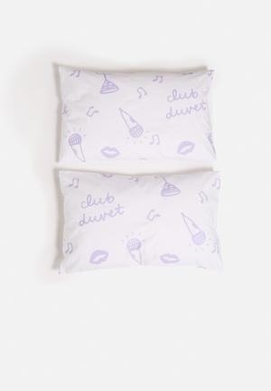 Zana X Superbalist Club Duvet Pillowcase Set Bedding Cotton Percale