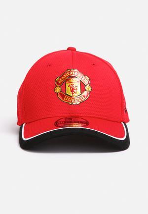 New Era 3930 Caddy Man Utd Headwear Red