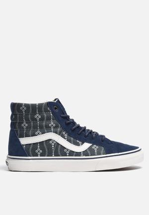 Vans SK8-Hi Reissue Sneakers Mood Indigo / Blanc