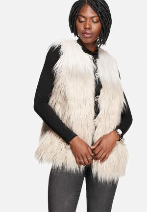 Leva Faux Fur Waistcoat