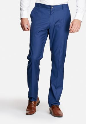 Selected Homme Logan Slim Trousers Pants Blue